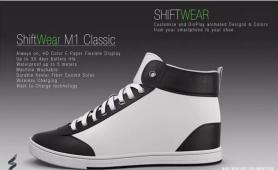 这双鞋子永远不会过时,因为它是双随时变身的智能鞋!